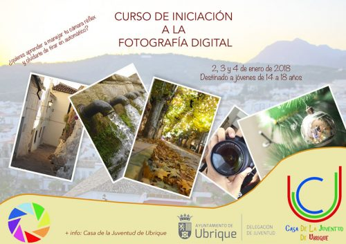 cartel curso fotografia digital